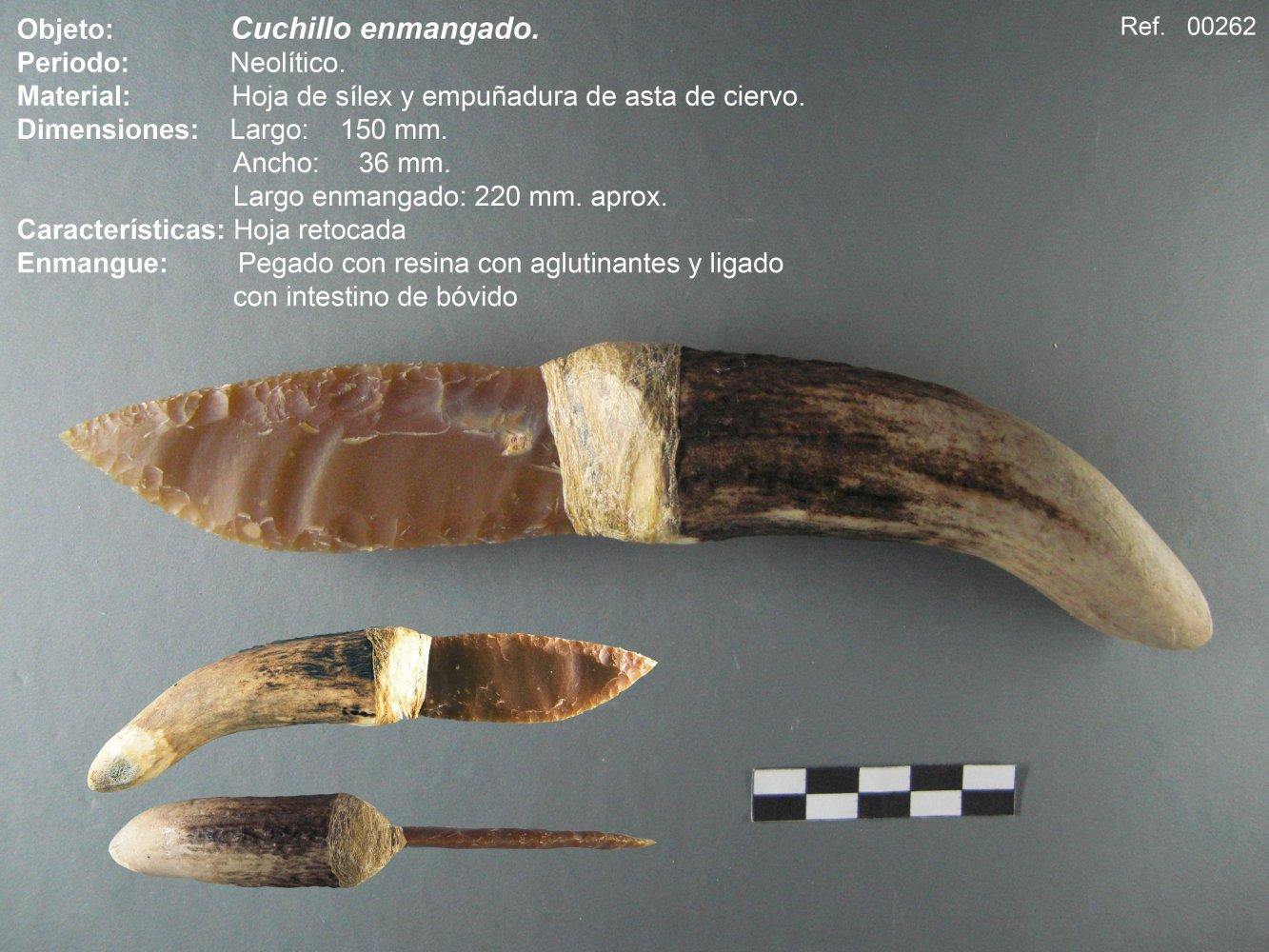 00262 Cuchillo neolítico